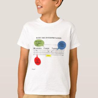 T-SHIRT INTERPRÉTATION DU BASIC ECG