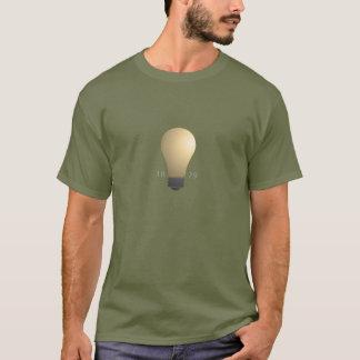 T-shirt Invention d'ampoule d'Edison