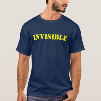 T-SHIRT INVISIBLE