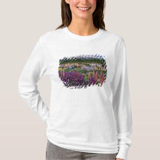 T-shirt Iris et jardin de loup et chaîne de Teton,