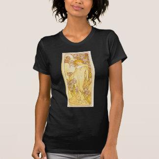 T-shirt Iris par Alphonse Mucha