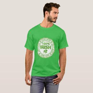 T-shirt Irlandais de 100%