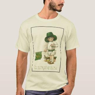 T-shirt irlandais de jour de Patrick de saint de