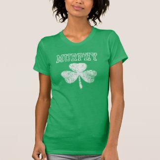 T-shirt Irlandais de shamrock de Murphy