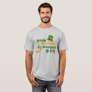 T-shirt Irlandais heureux de Jour de la Saint Patrick