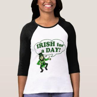 T-shirt Irlandais pendant un jour