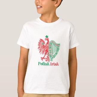 T-shirt Irlandais polonais