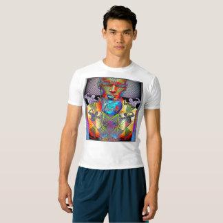 T-shirt irrésistible de compression de sports de