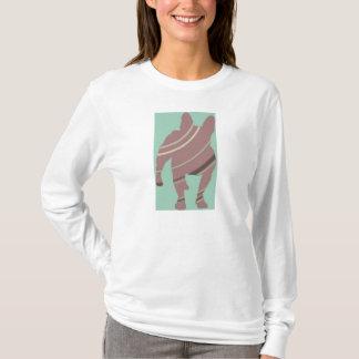 T-shirt Isi au pastel