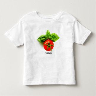 T-shirt italien d'enfant en bas âge d'héritage