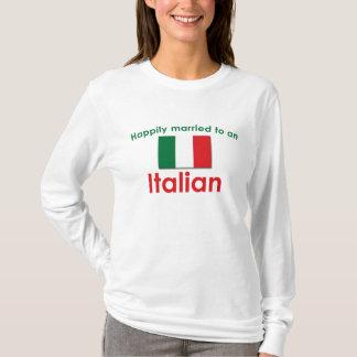 T-shirt Italien heureusement marié