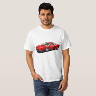 T-shirt italien rouge de Supercar