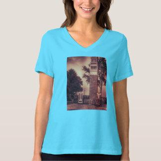 T-shirt italien vintage de photo de tour