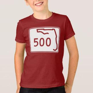 T-shirt Itinéraire 500 d'état de la Floride