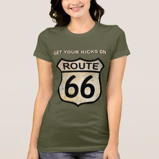 T-shirt Itinéraire 66