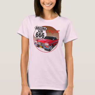 T-shirt Itinéraire 666 de l'Arizona USA - Christine