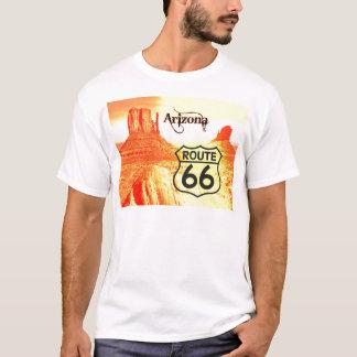 T-shirt Itinéraire 66 de l'Arizona