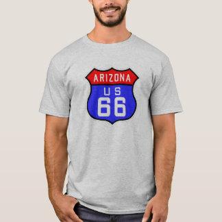 T-shirt Itinéraire 66 - L'Arizona