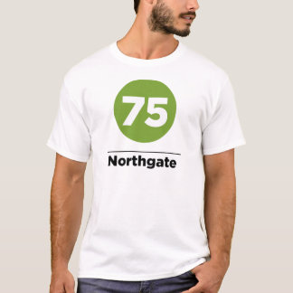 T-shirt Itinéraire 75 Northgate