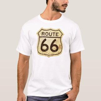 T-shirt Itinéraire rouillé 66