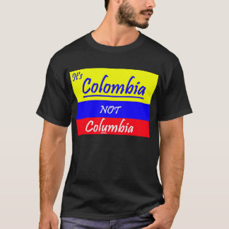 T-shirt It's Colombie tee shirt