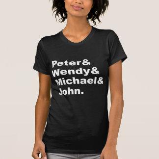 T-shirt J.M. Peter Pan de Barrie | Peter Wendy Michael