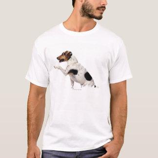 T-shirt Jack Russell Terrier soulevant la patte