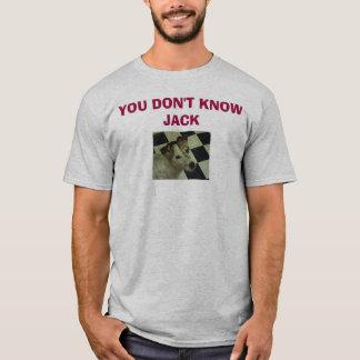 T-shirt Jack Russell Terrier, VOUS NE CONNAISSEZ PAS JACK