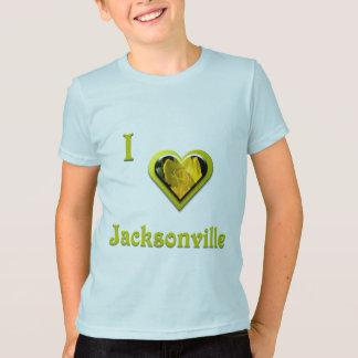 T-shirt Jacksonville -- avec la fleur jaune