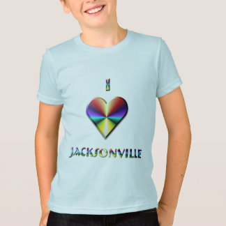 T-shirt Jacksonville -- Bleu et or de Brown