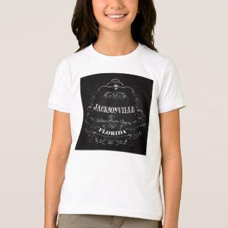 T-shirt Jacksonville, la Floride - où la Floride commence
