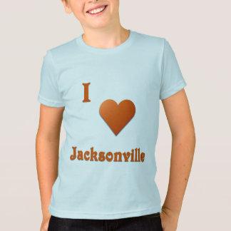 T-shirt Jacksonville -- Orange brûlée