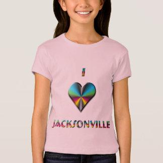 T-shirt Jacksonville -- Vert bleu et Bourgogne