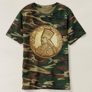 T-shirt Jah Army - Rastafari - Haile eux - Shirt