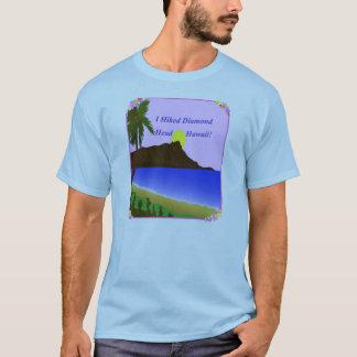 T-shirt J'ai augmenté la tête Hawaï de diamant