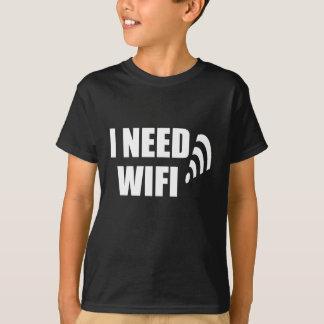 T-shirt j'ai besoin de wifi