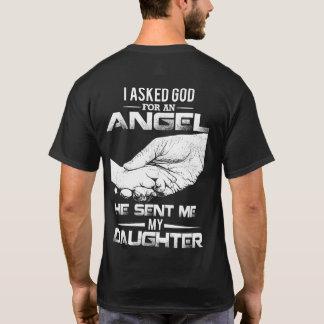 T-shirt J'ai demandé à Dieu un ange qu'il m'a envoyé ma