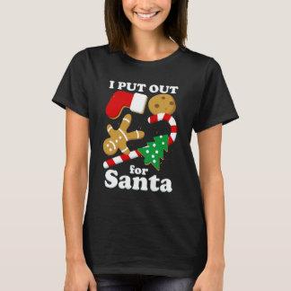 T-shirt J'ai éteint pour Noël drôle de Père Noël