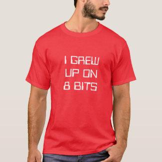 T-shirt J'ai grandi sur 8 bits