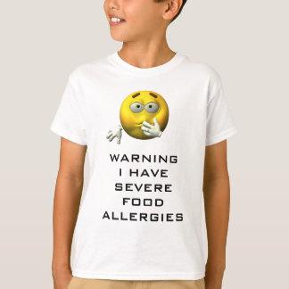 T-shirt J'ai l'allergie alimentaire