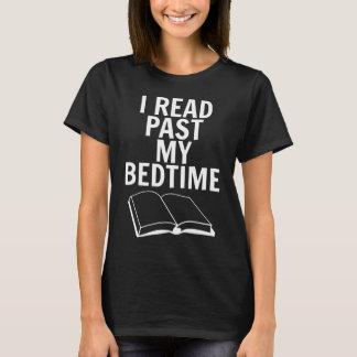 T-shirt J'ai lu après mon heure du coucher - femmes