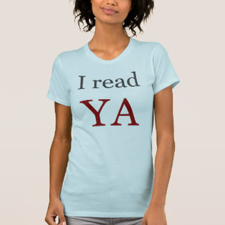 T-shirt J'ai lu de jeunes femmes de livres d'adulte de YA
