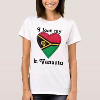 T-shirt J'ai perdu mon coeur au Vanuatu