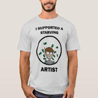 T-shirt J'ai soutenu un artiste affamé