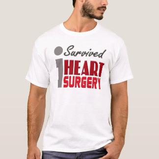 T-shirt J'ai survécu à la chemise de chirurgie cardiaque