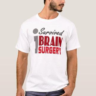 T-shirt J'ai survécu à la chemise de chirurgie cérébrale