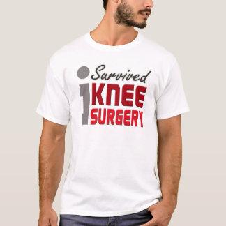 T-shirt J'ai survécu à la chemise de chirurgie de genou