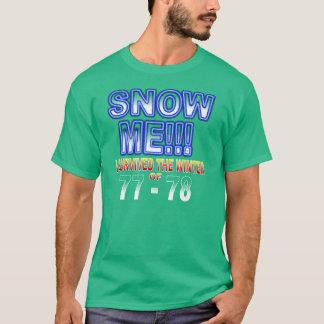 T-shirt J'ai survécu à la chemise d'hiver