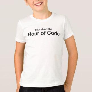 T-shirt J'ai survécu à l'heure du code
