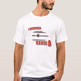 T-shirt J'ai survécu à l'itinéraire 9
